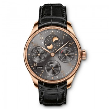 IWC- Portugieser Perpetual Calendar Double Moonphase 