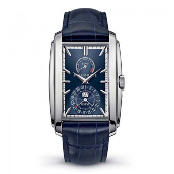 PATEK PHILIPPE - GONDOLO 8 DAYS BLU DIAL WHITE GOLD